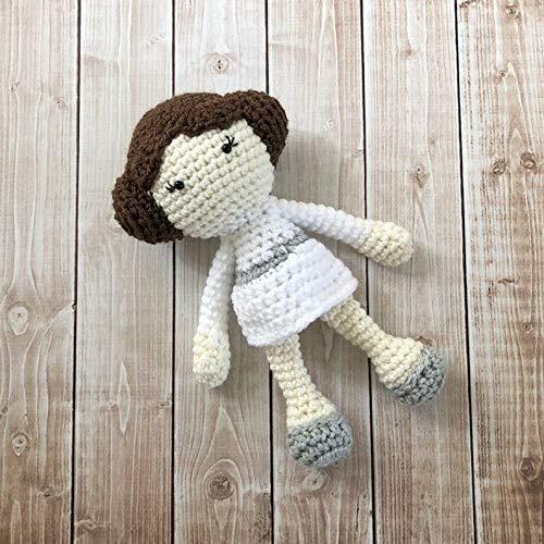 Leia Amigurumi Doll crochet pattern   Yumigurumi   Amigurumi Designer   500x500