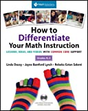 How to Differentiate Your Math Instruction, Grades K-5 Multimedia Resource, Linda Dacey and Jayne Bamford- Lynch, 193509940X
