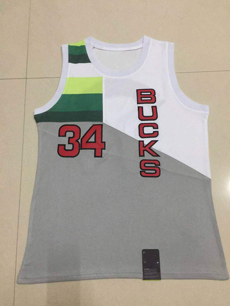Giannis Antetokounmpo,Basketball Jersey,Bucks,Earned Edition,New Fabric Embroidered,Swag Sportswear