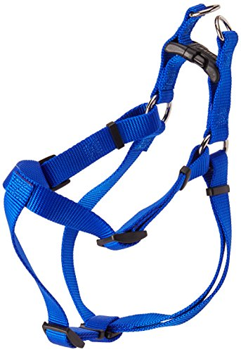 Coastal Pet Products DCP6645BLU Nylon Comfort Wrap Adjustable Dog Harness, 3/4-Inch, Blue