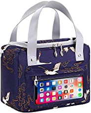CILLA Insulated Lunch Bags for Women Reusable Lunch Tote Bag Lightweight Lunch Box Containers for Work,Meal Pr