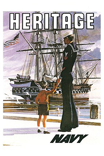 heritage posters navy