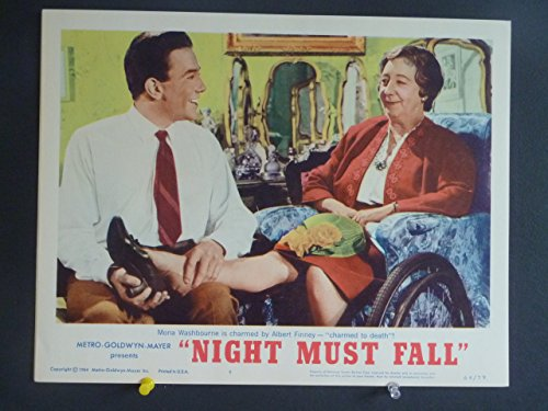 Sundown MUST FALL Lobby Card/ #4 1964 / Albert Finney & Mona Washbourne / THIS IS NOT A DVD
