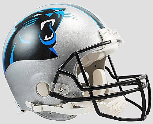 - Riddell NFL Carolina Panthers Authentic Vsr4 Full Size Football Helmet