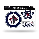 NHL Winnipeg Jets Die Cut Team Magnet Set Sheet