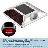 2 Pcs Solar Power Ground Marker Lights, 6 LED