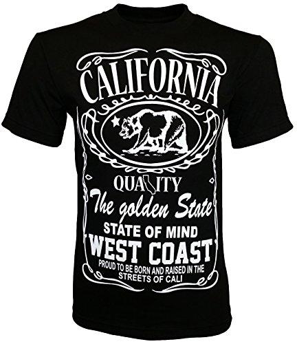 California Republic Men's T-Shirt - (West Coast) - Large