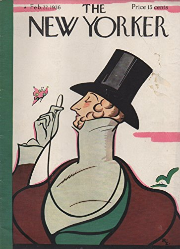 The New Yorker (magazine), February 22, 1936: Parson Weems, Virtue's Recruiting-Sergeant; Success Story; Tirade against Wisdom; The First Car Through; Cruise Captain's Chantey