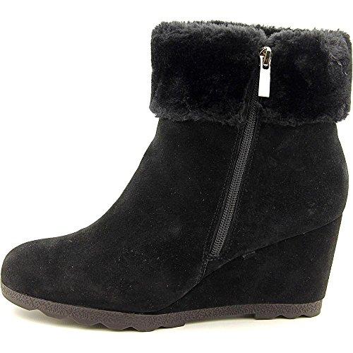 Alfani Oreena, Kaltes Wetter Stiefel Frauen, Geschlossener Zeh, Leder Black