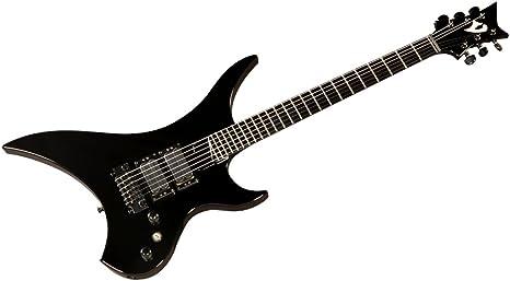Vigier Marilyn Supra DiMarzio Black + Maletín de guitarra metal ...