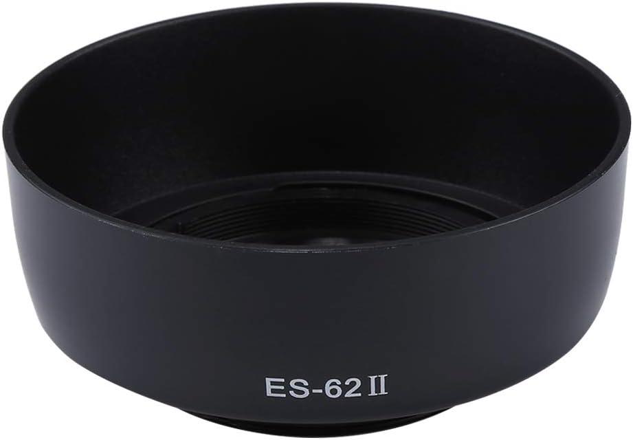 Xdashou ES-62 II Lens Hood Shade for Canon Camera EF 50mm F1.8 II Lens