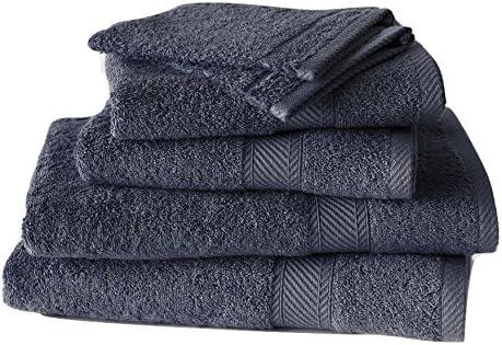 2 Serviettes 50 x 100 cm 2 Draps de Douche 70 x 140 cm Coton Rose De Witte Lietaer 201390 Set de 2 Gants