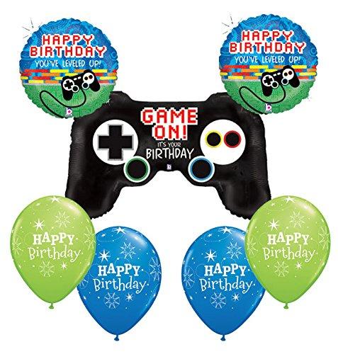 American Balloon Company Video Game Birthday Balloon Bouquet