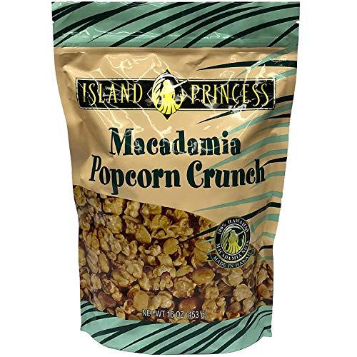 Macadamias POPCORN CRUNCH - 16 Ounce (453g), 1 PACK