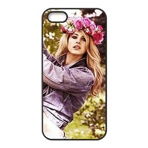 Hot Star Lana Del Rey Design TPU Custom Case For Iphone 5s iphone5-82313