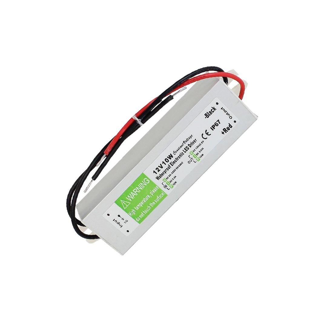 Sharplace 10W-150W Trasformatore di Potenza Driver per LED Strip Luce AC 110-220V a 12V DC - 10w