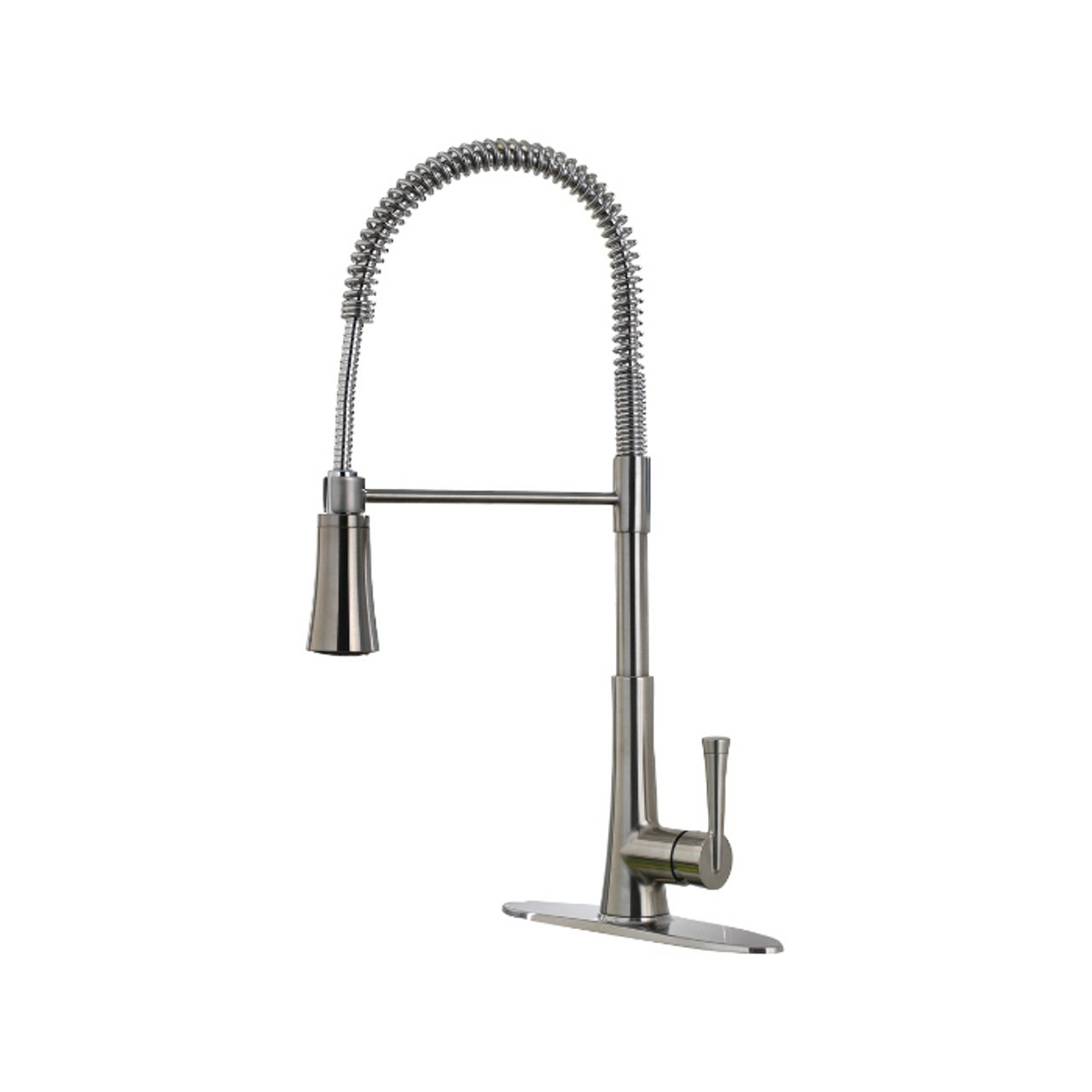 Pfister lg529mcs zuri 1 handle pull down kitchen faucet stainless steel 1 8gpm amazon com