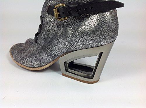 Modello Brindisi - 40 EU - Cuero Italiano Hecho A Mano Hombre Piel Púrpura Zapatos Vestir Oxfords - Cuero Cuero Repujado - Encaje RSQb42