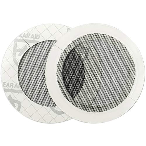 GEAR AID Tenacious Tape Mesh Patches for Tent and Bug Screen Repair, 3
