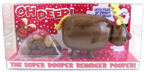 Chocolate Reindeer - Reindeer Pooper Candy Pooper Dispenser
