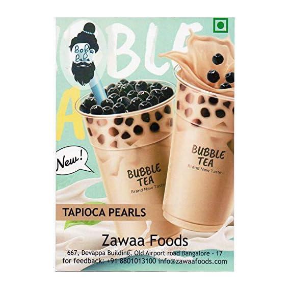 BOLLE Black Tapioca Pearl Boba by Boba Baba (1 kg)