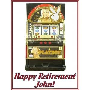 1 4 Sheet Retirement Casino Slot Machine Edible Cake