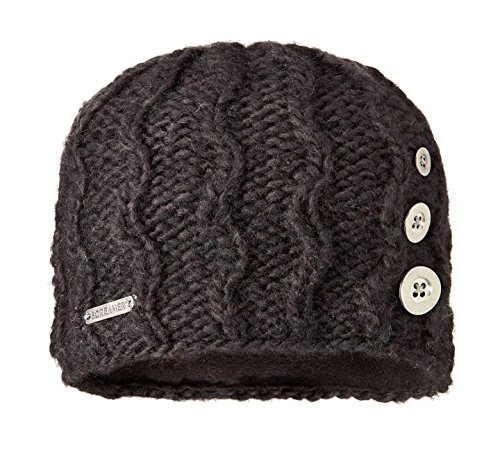 Screamer Tapestry Buttons Beanie, Black, One Size (Hat Tapestry)