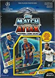 #7: 2016 2017 Topps UEFA Champions League Soccer Trading Card Game Sealed Two Player Starter Box with 38 Cards and a Bonus Gold Limited Edition Lionel Messi Card