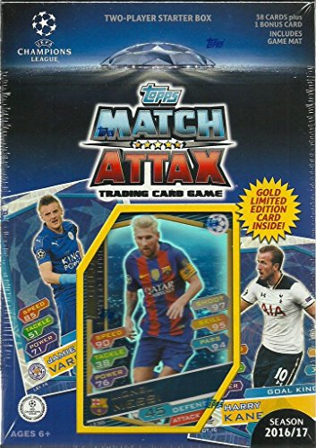 2016-2017-topps-uefa-champions-league-soccer-trading-card-game-sealed-two-player-starter-box-with-38