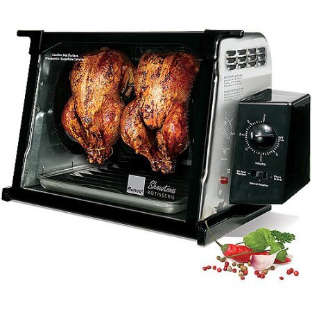 Ronco 4000 Showtime Standard Rotisserie, Stainless Steel