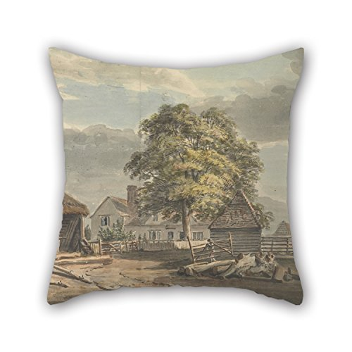 [Alphadecor Throw Pillow Covers 20 X 20 Inches / 50 By 50 Cm(2 Sides) Nice Choice For Relatives,living Room,christmas,indoor,her,pub Oil Painting Paul Sandby - The Woodyard, Great Windsor] (Monster High Costumes Walmart)
