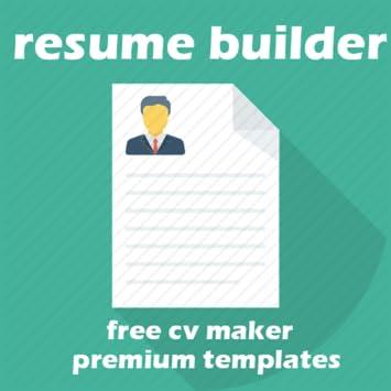amazon com resume builder free best resume templates appstore for