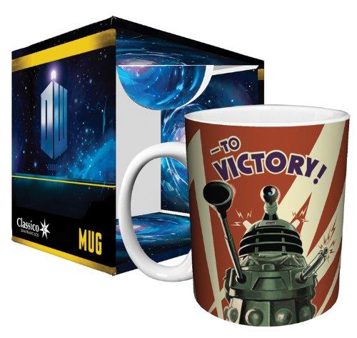 Doctor Who Dalek to Victory Mug