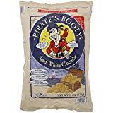Pirate's Booty Aged White Cheddar 18 Oz (510g) Resealable Baked Rice & Corn Puffs Gluten Free (JUMBO SIZE)