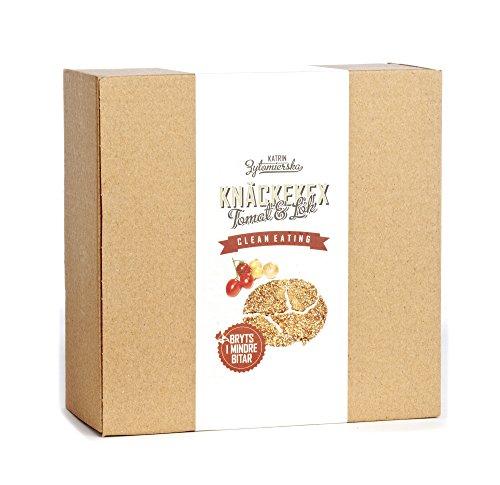 KZ Clean Eating - Tomato & Onion Cracker - 200g (7oz) - Low Carb Vegan Gluten Free Non GMO Swedish
