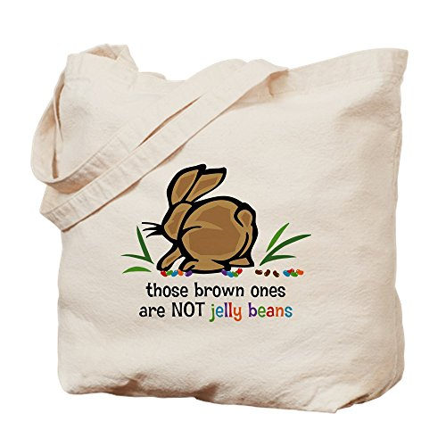 CafePress - Brown Jelly Beans Goodie Bag - Natural Canvas To