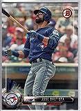 2017 Bowman Baseball #10 Jose Bautista Blue Jays