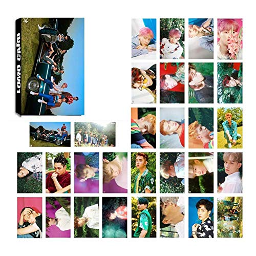 Kpop EXO The War Photo Postcard Lomo Cards Set Gift for Fans (H10)