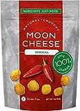 Moon Cheese 2 OZ, Pack of Three, Sriracha, 100% Cheese and Gluten Free