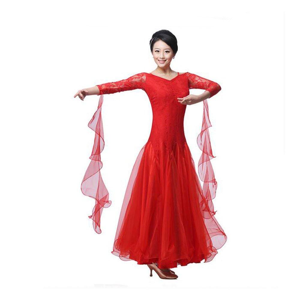 BellyQueen Women Modern Waltz Tango Dancing Clothes Ballroom Dance Skirts