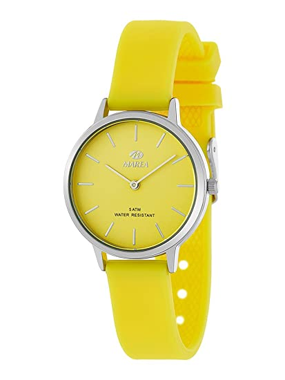 a0bdcb53700 Reloj Marea Mujer B41241 4 Amarillo  Amazon.es  Relojes