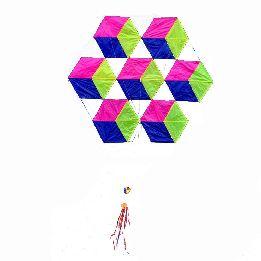 柔らかい傘布6面ルービックキューブ大きな大人の凧、飛ぶのは簡単風(リール付き) (色 (色 : A) B07QXKF95X : B07QXKF95X D D, BIN-1 LIMITED:7060b324 --- ferraridentalclinic.com.lb