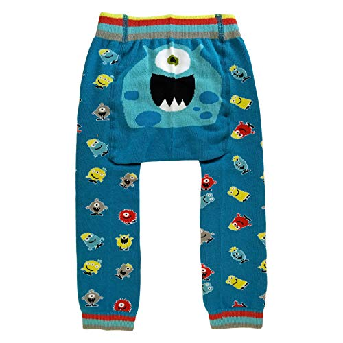 Huggalugs Baby or Toddler Boys Girls or Unisex Monster Legging Pant -