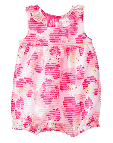 Gymboree Baby Girl Floral 1-Piece Romper (3-6M)