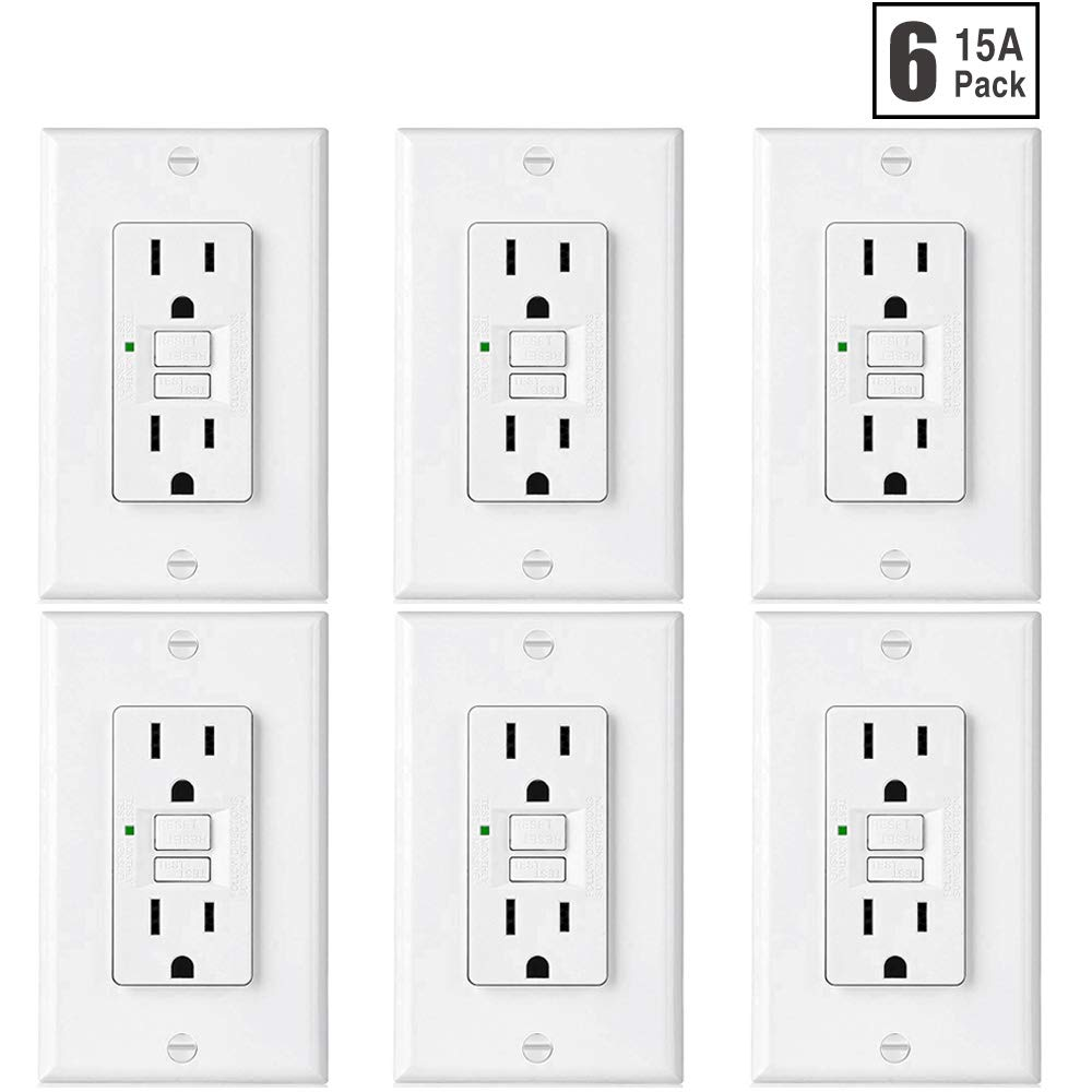 best rated in ground fault circuit interrupter outlets