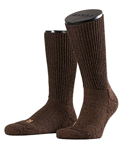 FALKE Unisex-Socken 16480 Walkie Trekking SO, Gr. 42/ 43 braun (dark brown 5450)