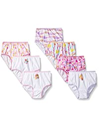 Nickelodeon girls Toddler Girls Character Toddler 7pk Panty