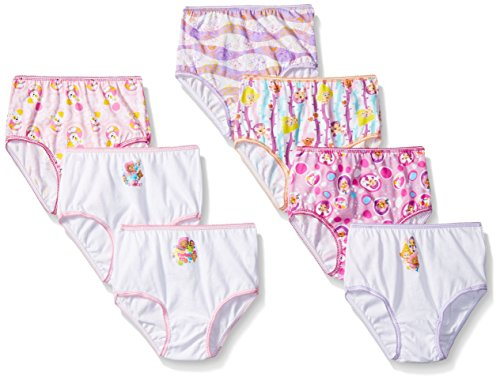 Nickelodeon Girls' Character Toddler 7pk Panty, Assorted, 4T (Nickelodeon Underwear Girls)