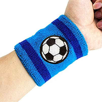 Sports Wristband Cotton Embroidery Wristbands for Men and Women Estimated Price £14.65 -