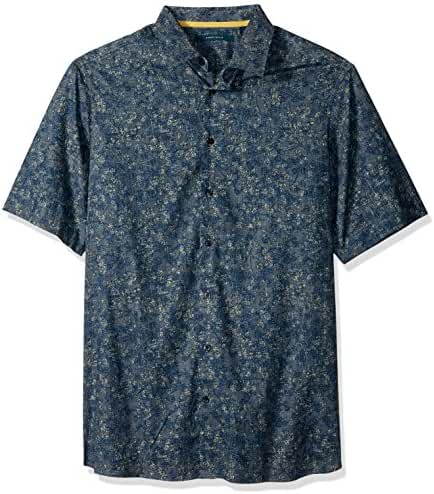 Perry Ellis Men's Big and Tall Allover Floral Shirt
